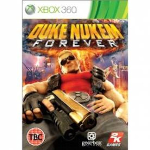 Duke Nukem Forever Game Xbox 360