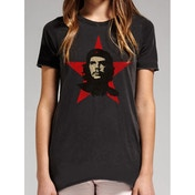 Che Guevara - Red Star Women's Large T-Shirt - Black