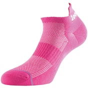 1000 Mile Ultimate Tactel Liner Sock Hot Pink Ladies - Medium