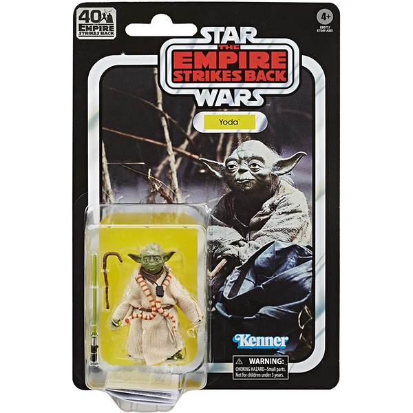 Yoda (Star Wars) Black Series 40th Anniversary Retro Action Figure