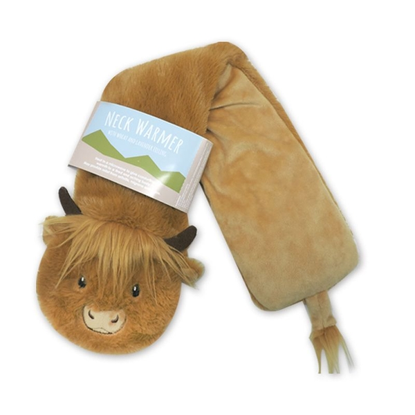 Highland Coo Cow Neck Warmer