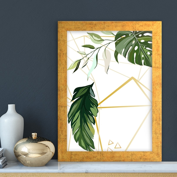 AC108535040922 Multicolor Decorative Framed MDF Painting
