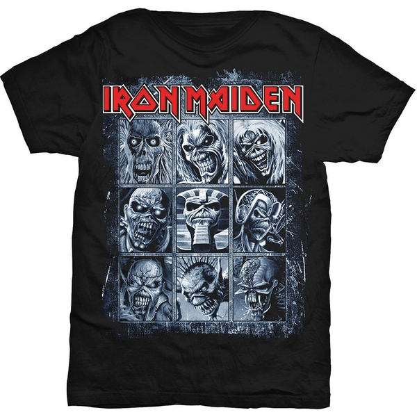 Iron Maiden - Nine Eddies Unisex X-Large T-Shirt - Black