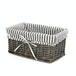 Grey Wicker Basket | M&W Medium - Image 3