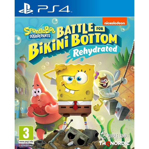 Spongebob SquarePants Battle for Bikini Bottom Rehydrated PS4 Game