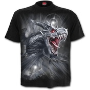 Dragon's Cry Men's X-Large T-Shirt - Black