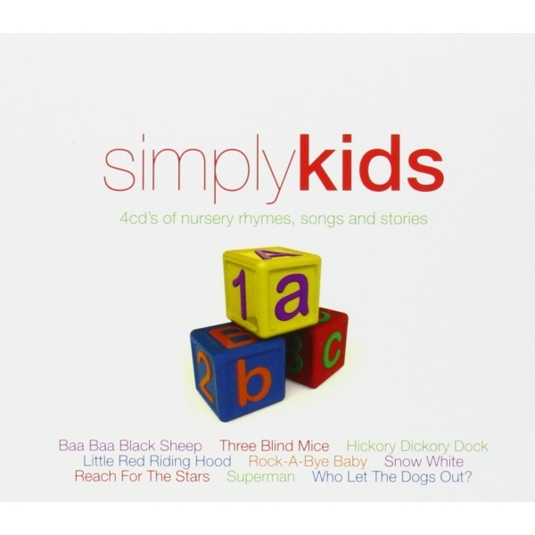 Various Artists - Simply Kids Nursery Rhymes, Songs and Stories 4CD