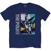 The Police - Message in a Bottle Unisex Medium T-Shirt - Blue