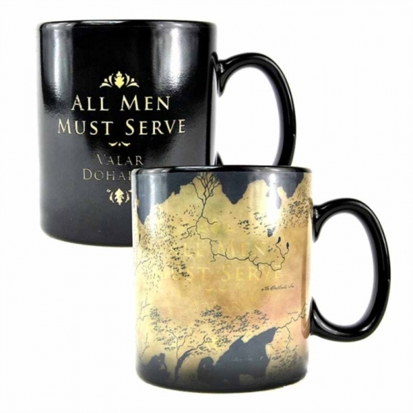 Game Of Thrones - Map Heat Change Mug