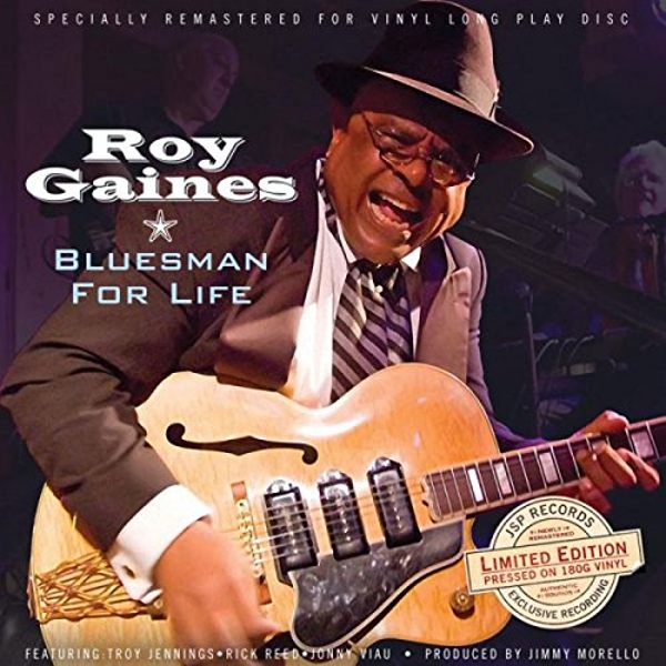 Roy Gaines - Bluesman For Life Vinyl