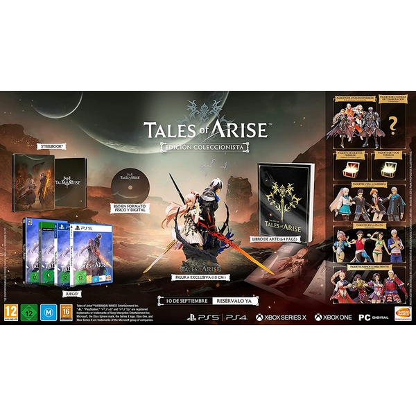 Tales Of Arise Collector's Edition PS4 Game
