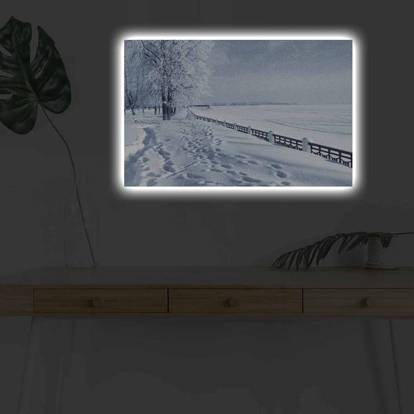 4570DHDACT-117 Multicolor Decorative Led Lighted Canvas Painting