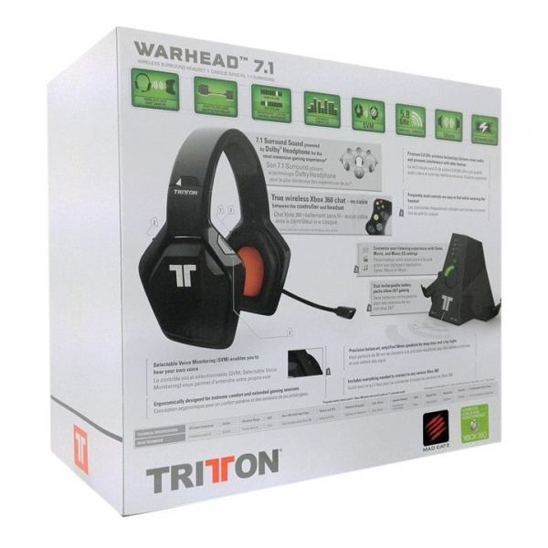 Tritton Warhead Wireless 7.1SS Headset Xbox 360 - Image 2