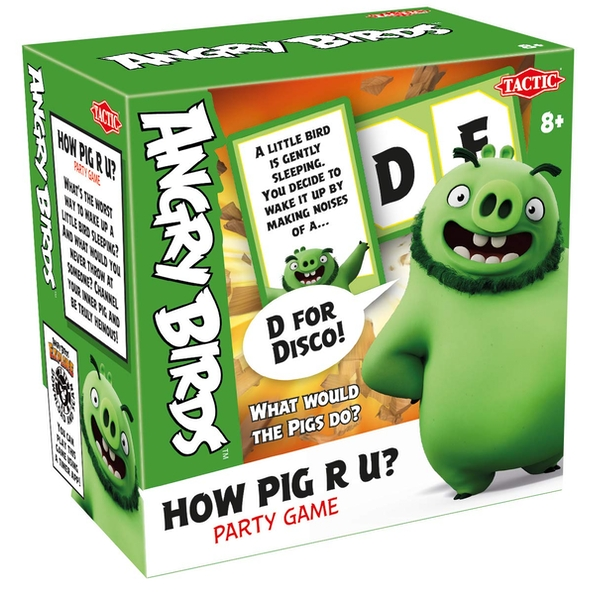Angry Birds, How Pig R U? Party Game