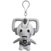 Doctor Who Cyberman Talking Plush Key Chain