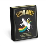 Affirmators : 50 Affirmative Cards to Help You Help Yourself - Without the Self-Helpy-Ness!