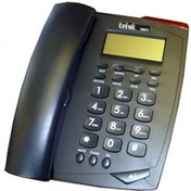 Tel UK 18071B Venice Phone Caller ID Telephone Black