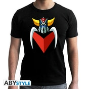 Grendizer - Grendizer's Bust Men's X-Large T-Shirt - Black