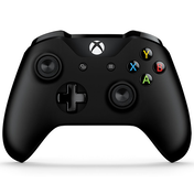 Official Microsoft Black Wireless Controller Xbox One V2