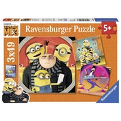 Ravensburger Despicable Me 3, 3x 49 Piece Jigsaw Puzzles - DM3