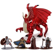 Dungeons & Dragons 1.65 Inch Deluxe Nano Figures (Pack Of 5)