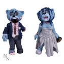 Bride and Groom Bad Taste Bears Statue