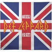 Def Leppard - 2018 Tour Union Jack Blanket