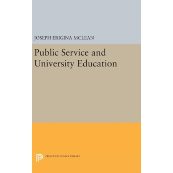 Public Service and University Education