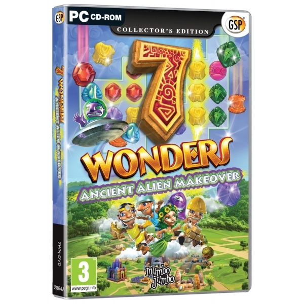 7 Wonders Ancient Alien Makeover Game PC