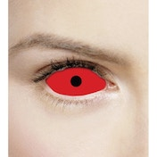 Satanic Red 1 Year Sclera Coloured Contact Lenses (MesmerEyez Xtreme)