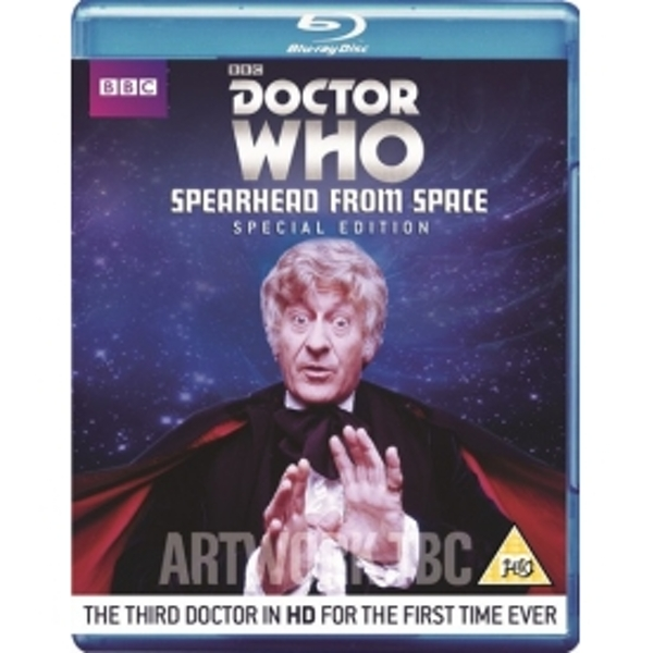 Doctor Who Spearhead From Space Blu-ray