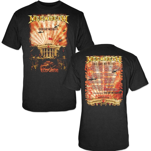 Megadeth - China Whitehouse Unisex XX-Large T-Shirt - Black