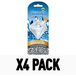 Ice 3D (Pack Of 4) Diamond Air Freshener - Image 2