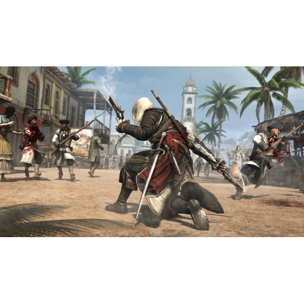 Ex-Display Assassin's Creed IV 4 Black Flag Skull Edition Game Xbox One Used - Like New - Image 3