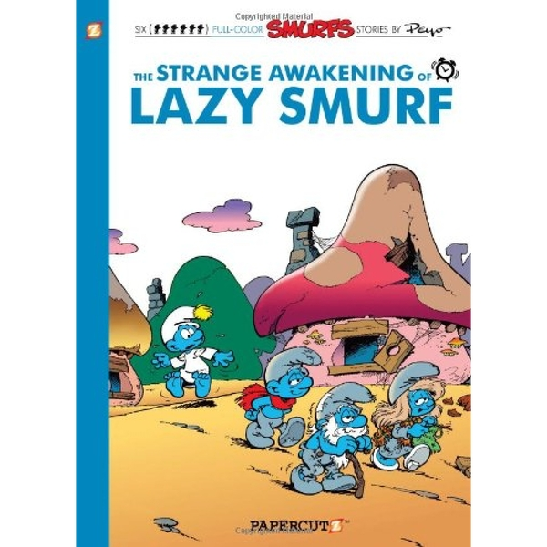 The Strange Awakening of Lazy Smurf Hardcover