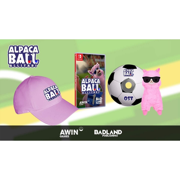 Alpaca Ball All-Stars Collector Edition Nintendo Switch Game