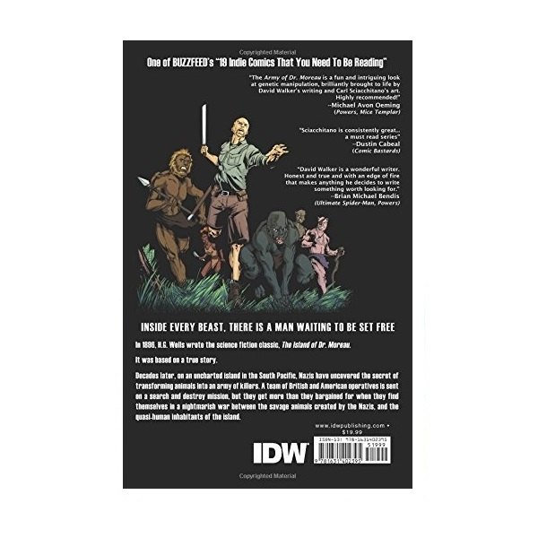The Army of Doctor Moreau Paperback - Image 2
