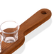 Wooden Drinks Paddle with 6 Shot Glasses | M&W - Image 3