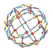 Ex-Display Hoberman Large Rainbow Sphere Used - Like New