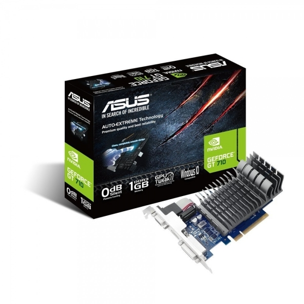 Image of Asus NVIDIA Gt 710 1 GB Passive Cooling Pci-E Graphics Card