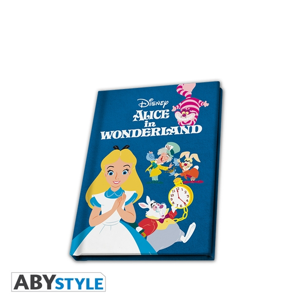 Disney - Alice In Wonderland A6 Notebook