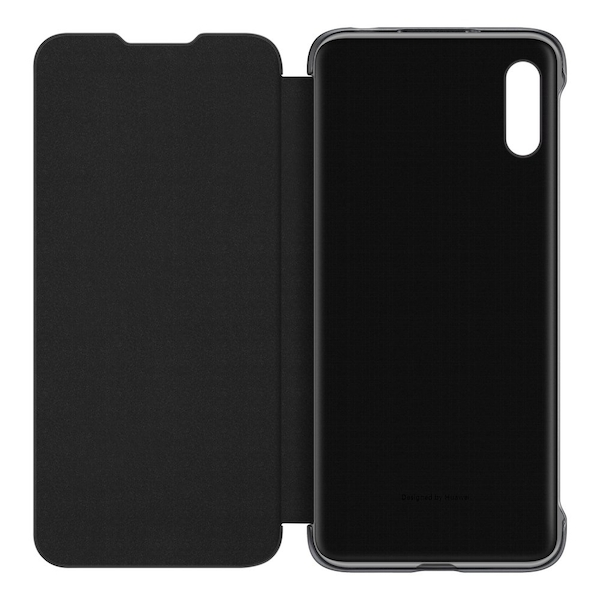 Huawei Y6 Protective Flip Cover Case Compatible for Huawei Y6 (2019) Black