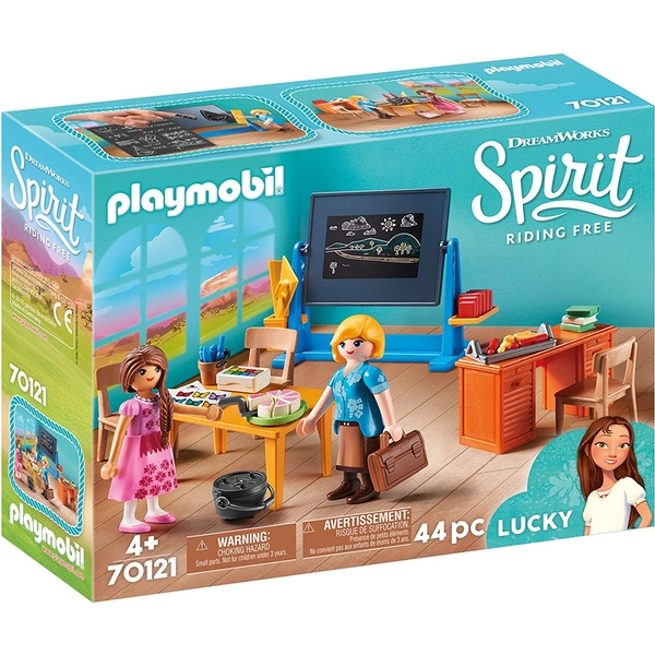 Playmobil DreamWorks Spirit Riding Free Miss Flores' Classroom