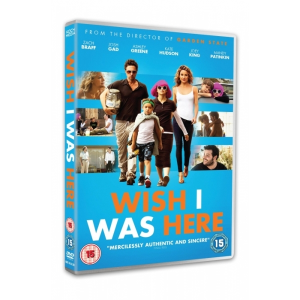 Wish I Was Here 2015 DVD