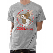Gremlins - Gizmo Distressed Men's Medium T-Shirt - Grey