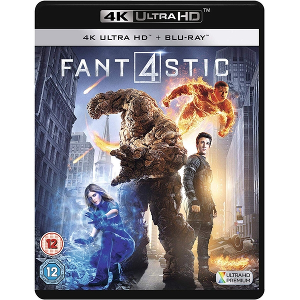 Fantastic Four 4KUHD + Blu-ray