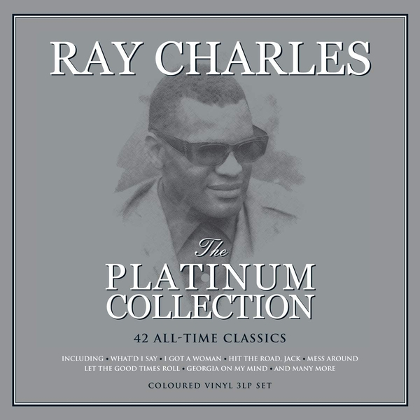 Ray Charles - The Platinum Collection White Vinyl