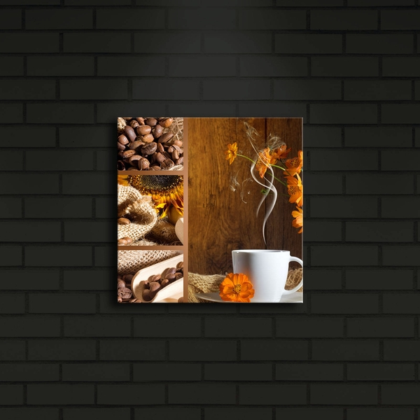 2828?ACT-16 Multicolor Decorative Led Lighted Canvas Painting