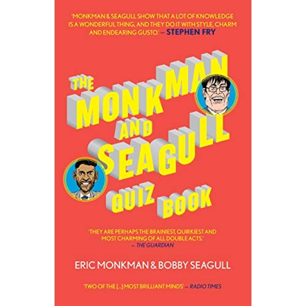 The Monkman And Seagull Quiz Book by Bobby Seagull, Eric Monkman (Paperback, 2017)