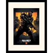 Call of Duty: Black Ops 4 - Trio Mounted & Framed 30 x 40cm Print
